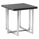Tyler Modern Brushed Steel End Table
