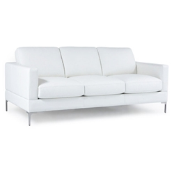 Tyson Modern Leather Sofa