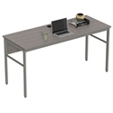 Underwood Modern 59 in. Ash Gray Desk