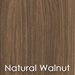 Underwood Modern Office Collection Natural Walnut Swatch