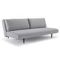 Unfurl Modern Lounger in Light Grey by Innovation