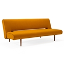 Unfurl Modern Sleeper Sofa in Burned Curry by Innovation Living
