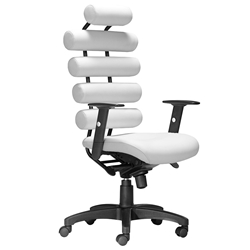 Unico Modern White Office Chair by Zuo