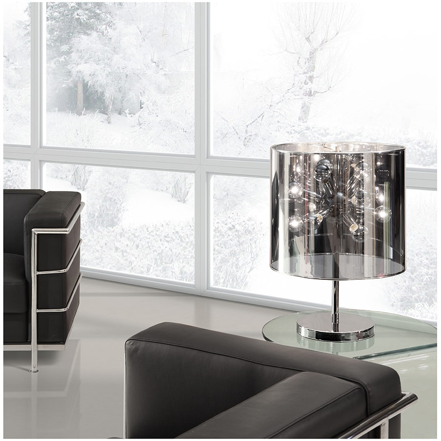Universe Modern Table Lamp with Translucent Shade