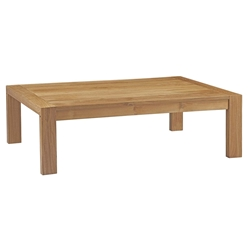 Upton Modern Teak Outdoor Coffee Table
