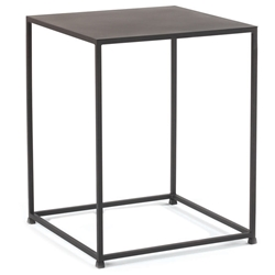 Uptown 18 Inch Modern Solid Steel End Table