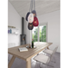 Uther Woven Contemporary Ceiling Lamp