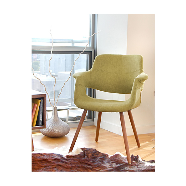 Valera Modern Green Lounge Chair Eurway Furniture
