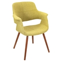 Valera Modern Green Lounge Chair