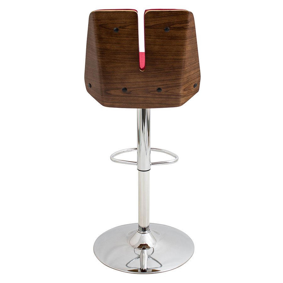Modern Stools Valto Red Adjustable Stool Eurway