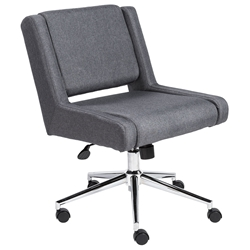 Vanessa Modern Gray Office Chair by Euro Style