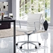 Vanguard White Contemporary Office Chair