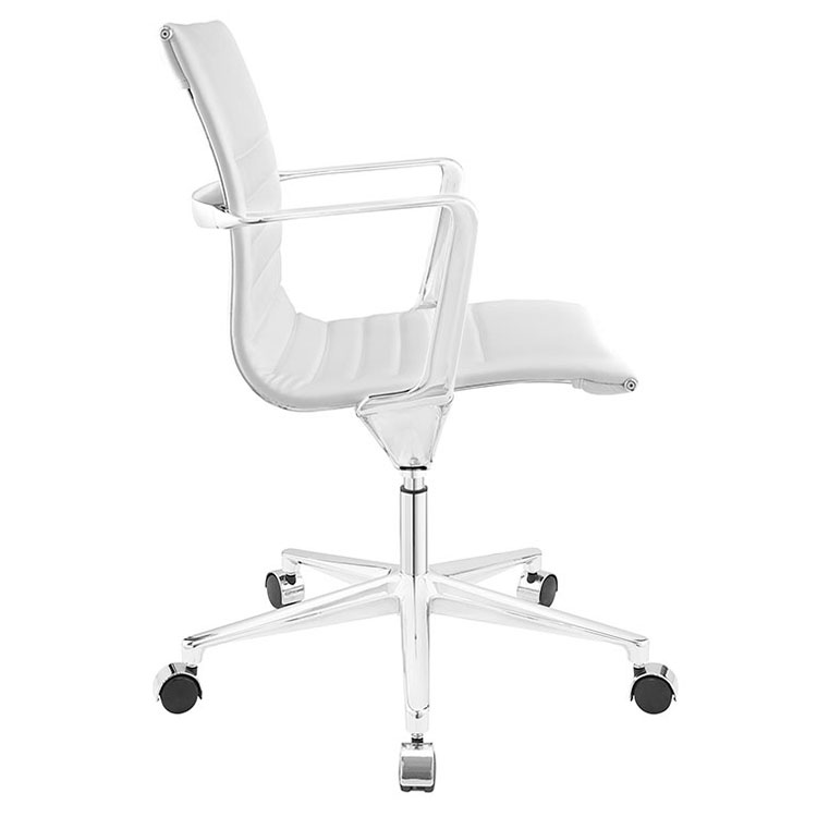 vanguard modern white office chair eurway. Black Bedroom Furniture Sets. Home Design Ideas