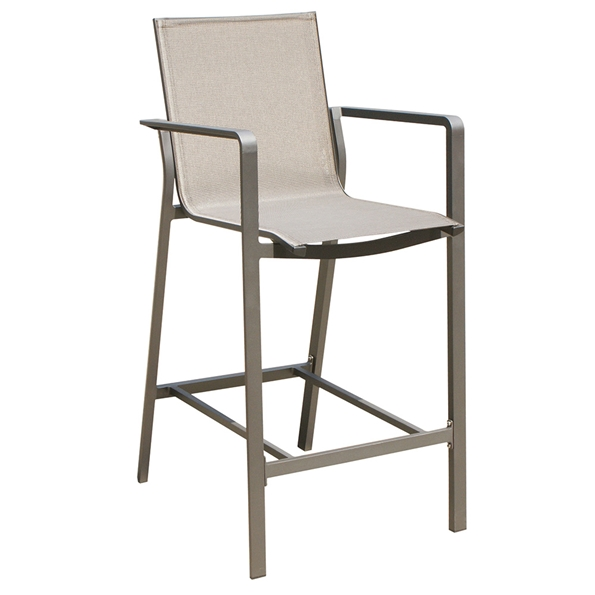 Vargas Outdoor Modern Bar Stool by Whiteline