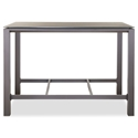 Vargas Outdoor Modern Bar Table by Whiteline