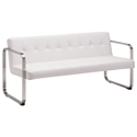 Vasco White Modern Sofa