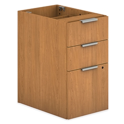 Velocity Modern 3-Drawer File in Harvest Laminate