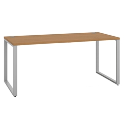 Velocity Modern 72x30 Desk in Harvest Laminate