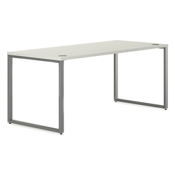 Velocity Modern 72x30 Desk in White