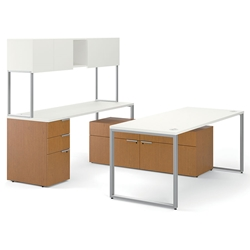 Velocity Modern Executive Desk Set