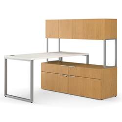 Velocity Modern Manager Desk Set