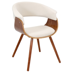 Venice Modern Cream Lounge Chair