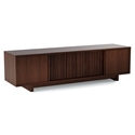Vertica Chocolate Low Contemporary TV Stand