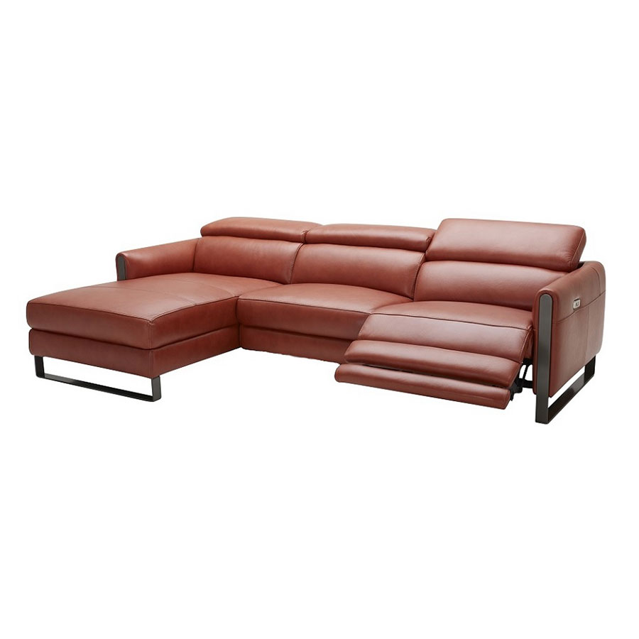 Vertigo Sofa W Left Facing Chaise Ochre Eurway