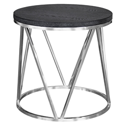Victoria Modern Round End Table