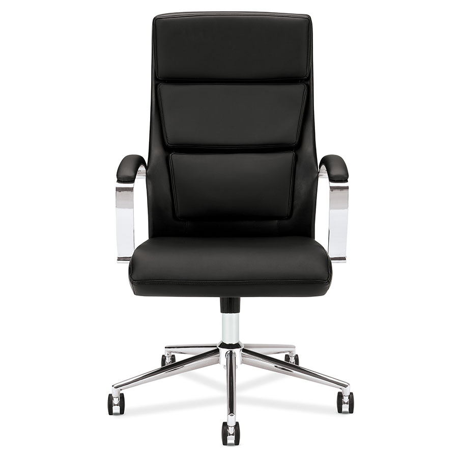 Victory Black Modern Office Chair | Eurway Furniture for Office Chair Front View  45gtk