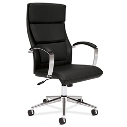 leather office chair modern. Victory Black Modern Leather Office Chair