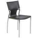 vinnie side chair in black