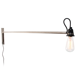 Vintage Swing Arm Lamp by Gus Modern