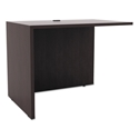 Virginia Modern 35 Inch Return in Espresso