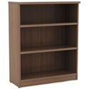 Virginia 39 Inch Modern Walnut Bookcase
