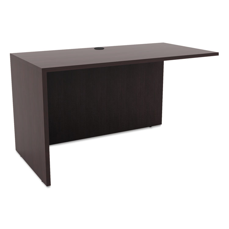 Virginia Modern 47 Inch Return in Espresso