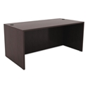 Virginia Modern 59x29 Inch Desk in Espresso