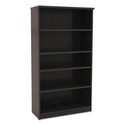 Virginia 65 Inch Modern Espresso Bookcase