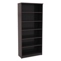 Virginia 80 Inch Modern Espresso Bookcase