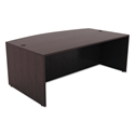 Virginia Modern Bow Front Desk in Espresso
