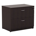 Virginia Modern Espresso Lateral File Cabinet