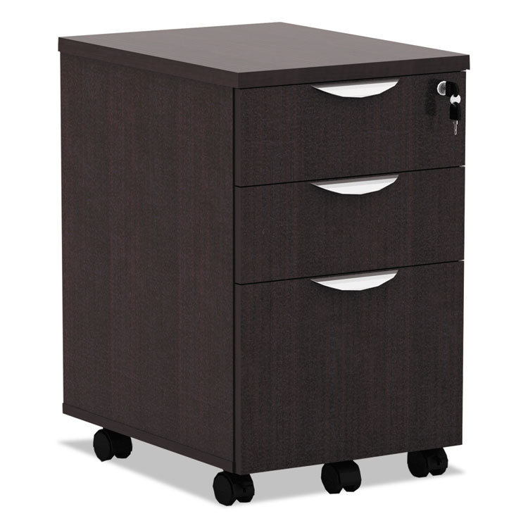 Virginia Modern Espresso Mobile File Cabinet