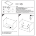 Virginia Pencil Drawer Assembly Instructions