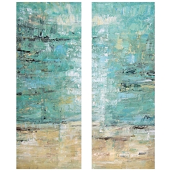 Vista Dreams Modern Canvas Gallery Wrap Wall Art Set