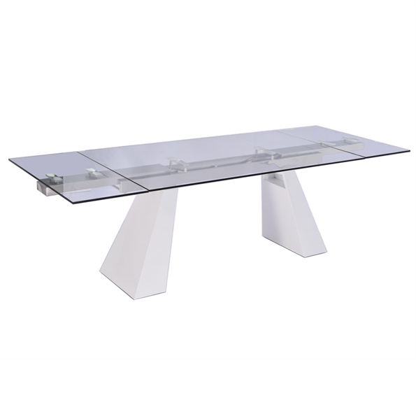 Vittorio White Contemporary Dining Table