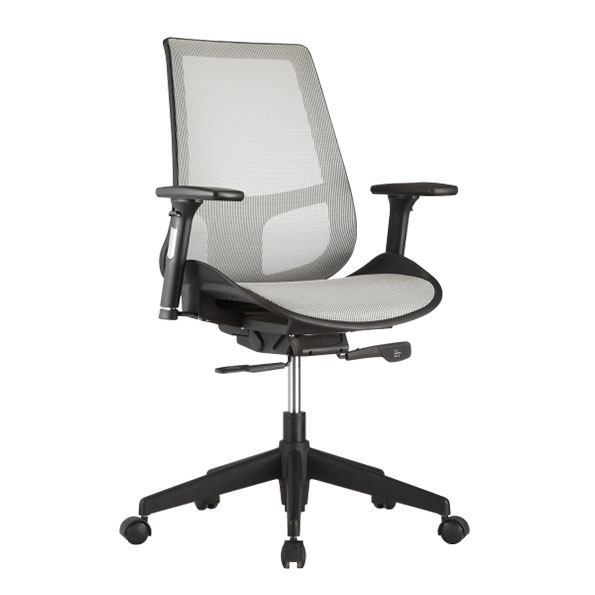 Vonda Gray Modern Office Chair