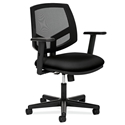 Voyage Modern Mesh Back Office Chair in Black