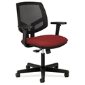 Voyage Modern Mesh Back Office Chair in Crimson