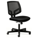 Voyage Modern Mesh Back Task Chair in Black