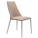 Warner Beige Modern Dining Chair
